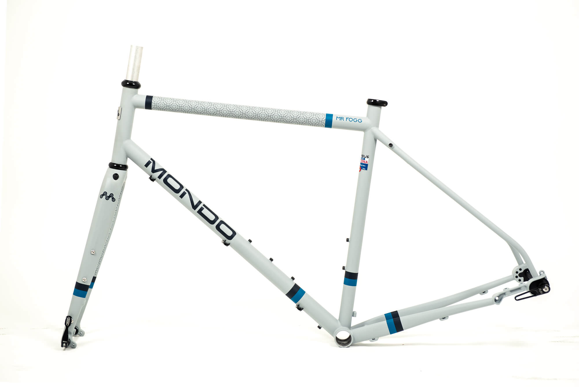 mr fogg gravel bike telaio artigianale