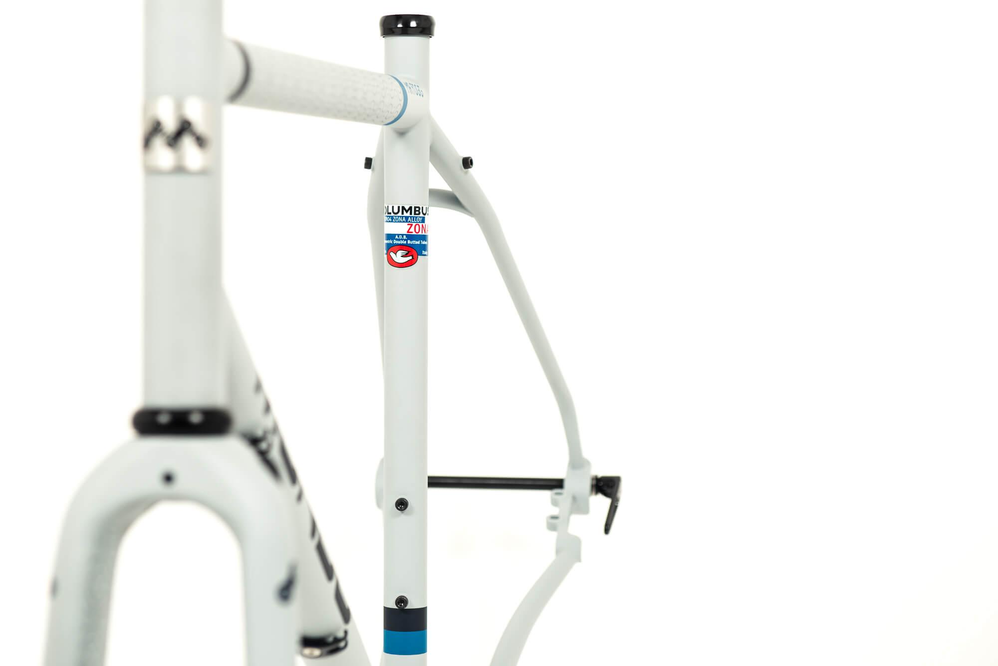 mr fogg gravel bike telaio acciaio