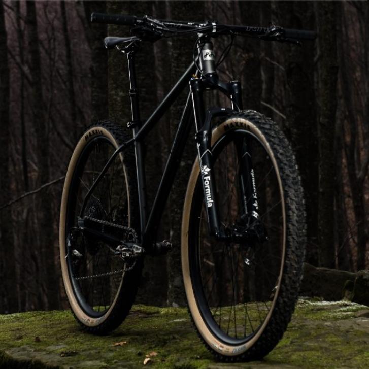 Walden la pura essenza della mountain bike. Bicicletta artigianale in acciao